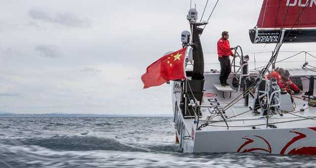 Sea trials onboard Dongfeng as the team enter the final stages of boat preparation before the focus switches to on-the-water training and final crew selection. - Volvo Ocean Race © Eloi Stichelbaut / Dongfeng Race Team