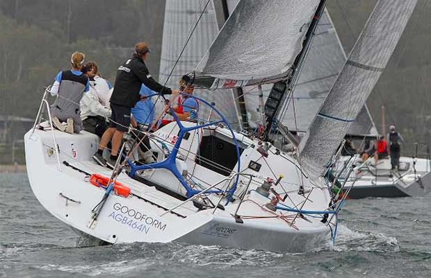 Good Form Pittwater OD Trophy Dec 16 © Crosbie Lorimer