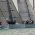 Sports boat start Game On second from right - Festival of Sails © LaFoto
