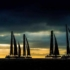 Dramatic silhouettes at Marseille One Design. - 2016 GC32 Racing Tour © Sander van der Borch / Bullitt GC32 Racing Tour