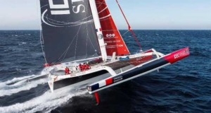 Jules Verne Trophy – IDEC Sport at halfway point in less than 20 days Jean-Marie Liot / DPPI / IDEC © http://www.trimaran-idec.com/