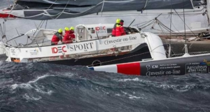 Two records for IDEC Sport at Cape Leeuwin - Jules Verne Trophy Jean-Marie Liot / DPPI / IDEC © http://www.trimaran-idec.com/