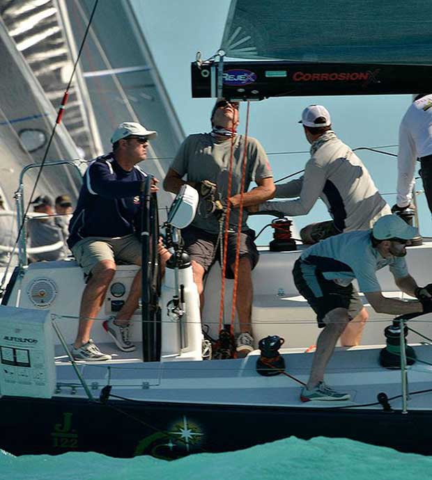Day 3 featured less breeze, but closer racing, particularly in the ORC Class where Mt Gay Rum Boat of the Day winner Second Star had finishes of 1 - 1 - 2.5 - Quantum Key West Race Week © PhotoBoat