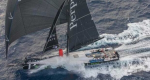 Perpetual Loyal took line honors in the 2016 Sydney to Hobart Race and set a new course record en route © Rolex/Daniel Forster http://www.regattanews.com