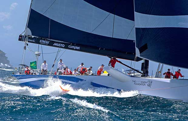 CQS - above and below decks tour of the foiling supermaxi - Video