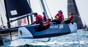 Land Rover BAR Academy will be skippered by Rob Bunce - GC32 Championship © Jesus Renedo / GC32 Championship Oman