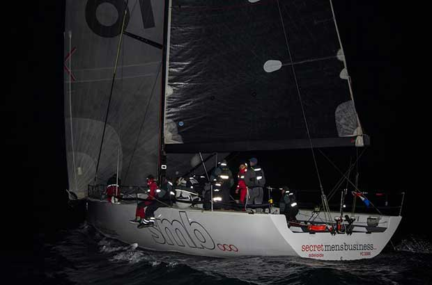 Geoff Boettcher's Secret Men's Business was last year's line honours and IRC winner. © Fran Solly