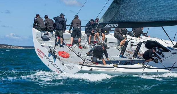 Geoff Boettcher's Secret Men's Business will be tough to beat in this year's race. - Teakle Classic Adelaide to Port Lincoln Yacht Race © Fran Solly