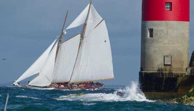 The crew of the 162ft Eleonora, the exact replica of the famous 1910 Herreshoff schooner Westward will include members of the Royal Yacht Squadron and Royal Ocean Racing Club - RORC Caribbean 600 © onEdition http://www.onEdition.com
