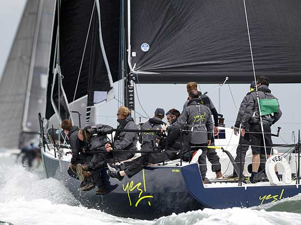 The Round the Island Race is set fair for a bright year as entries open for the 2017 edition