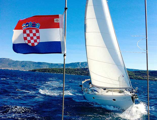 Sailing the Croatian