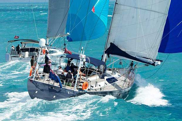 Tradewind sailing on azure tropical waters: one of the many reasons to be at Audi Hamilton Island Race Week. Andrea Francolini http://www.afrancolini.com/