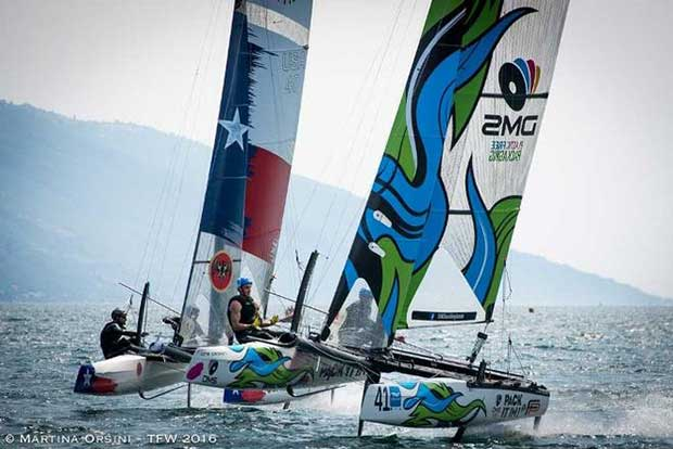 Foiling Week GARDA is the first TFW event in 2017 Martina Orsini / TFW http://foilingweek.com/