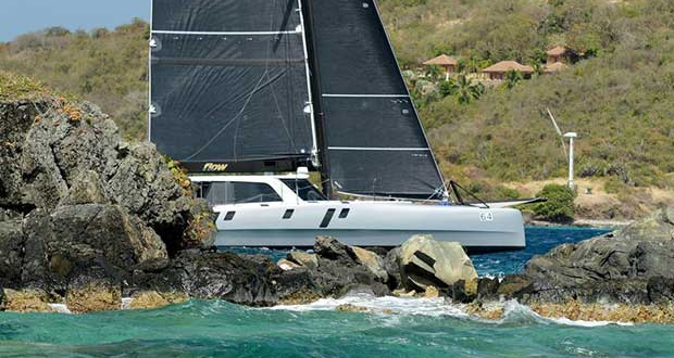 Today's Round the Rocks Race is especially fun for the large class of Offshore Multihulls. © Dean Barnes