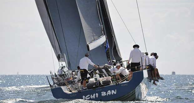 Ichi Ban is now favorite to take the Courier Mail Cup - Brisbane to Gladstone Yacht Race Shoebox Images