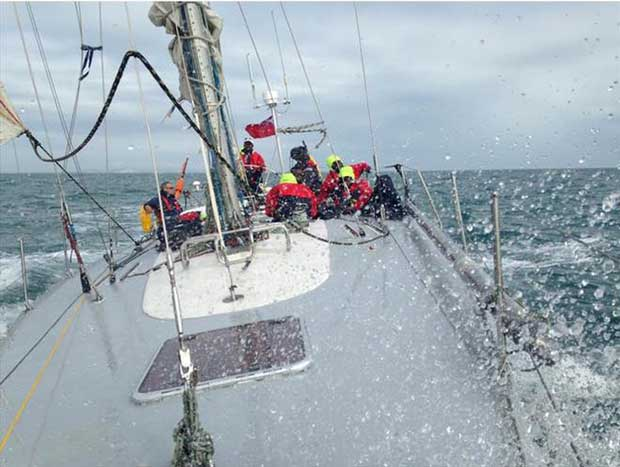 Frers 45, Scaramouche will be sailed by the Greig City Academy - RORC Season's Points Championship © RORC