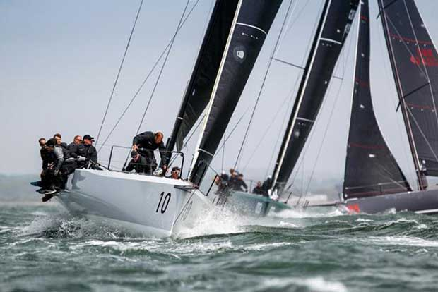 FAST40+ race team - RORC Easter Challenge © Fast40 Class