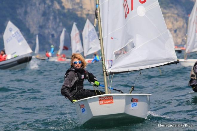 Junior Winner – 35th Lake Garda Optimist Meeting © Elena Giolai/Fraglia Vela Riva