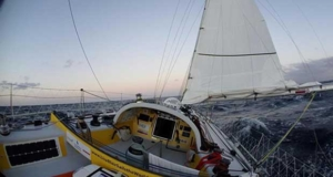 Lisa Blair attempting to be the first woman to sail around Antarctica solo - in her Open 50 Lisa Blair