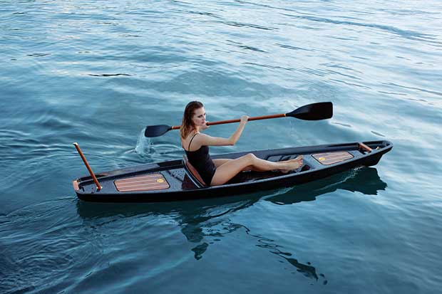 McLellan Jacobs have designed an upscale kayak.