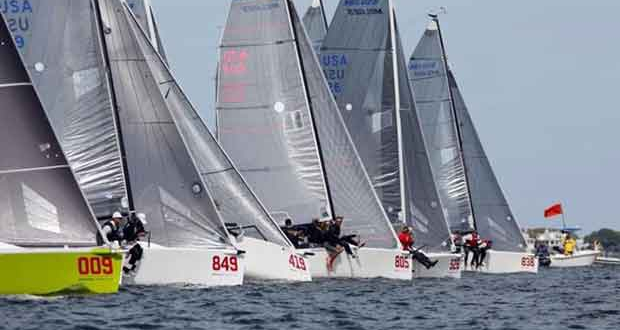 Second day of the 2017 Melges 24 U.S. National Championship in Charleston © JOY / USM24CA