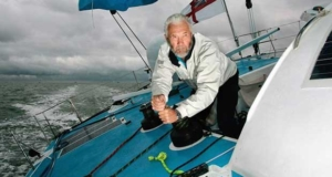 RKJ winching. Sir Robin Knox-Johnston to compete in Round Britain and Ireland Race © onEdition http://www.onEdition.com