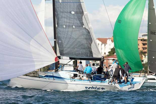 CYCA Director Tony Kirby's Patrice in Race 2 of the Land Rover Winter Series © David Brogan www.sailpix.com.au