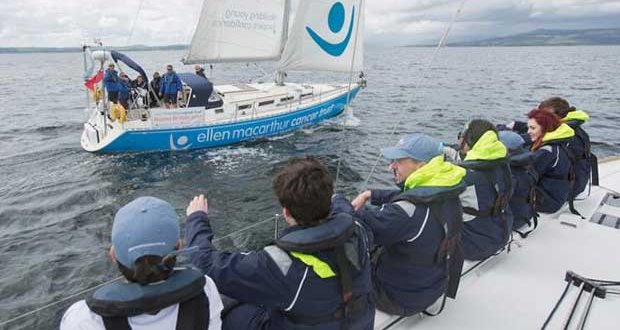 Ellen MacArthur Cancer Trust Round Britain © Marc Turner / EMCT