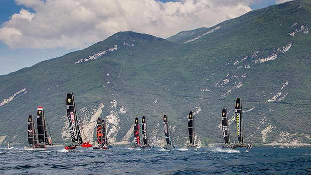 11 team from eight countries and four continents - 2017 GC32 Racing Tour © Jesus Renedo / GC32 Racing Tour