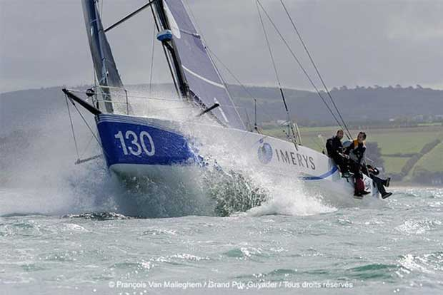 Imerys, skippered by Phil Sharp - Grand Prix Guyader Armor Lux Trophy Francois Van Malleghem / Grand Prix Guyader