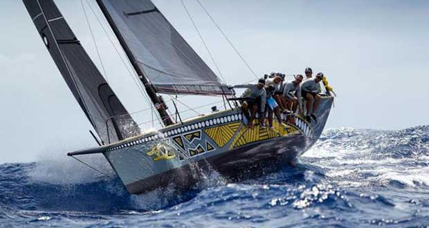 A close win in CSA 4 for Mark Chapman's Trini Ker 11.3, Dingo - Antigua Sailing Week 2017 © © Paul Wyeth / pwpictures.com http://www.pwpictures.com