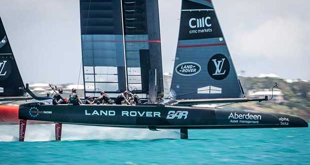 Land Rover BAR - Practice Session 5, Day 1 - May 15, 2017, Great Sound Bermuda ACEA / Ricardo Pinto http://photo.americascup.com/