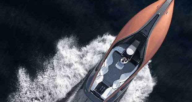 Marquis-Carver Yacht Group produced the prototype of the Lexus Sport Yacht.