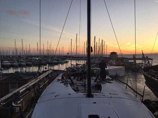 Tony Langley's new Gladiator is all set to be ready to challenge for the Rolex TP52 World Championship 52 Super Series