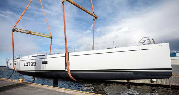 The Nautor's Swan 95 is described as an evolution of the Swan 90, according to the Finnish builder. Eva-Stina Kjellman
