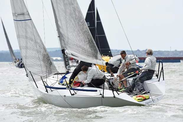 Sam Laidlaw's Aguila will compete in the Quarter Ton Class – RORC Vice Admiral's Cup © Rick Tomlinson http://www.rick-tomlinson.com