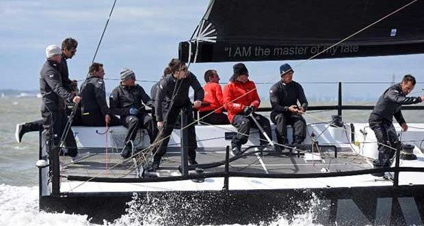 Sir Keith Mills' Ker 40+ Invictus will go into the RORC Vice Admiral's Cup on top form © Rick Tomlinson http://www.rick-tomlinson.com