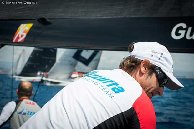 Azzurra back in home waters for Audi Sailing Week - 52 Super Series © Martina Orsini