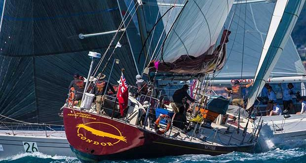 The easily recognisable Condor - 2017 Airlie Beach Race Week © Andrea Francolini http://www.afrancolini.com/