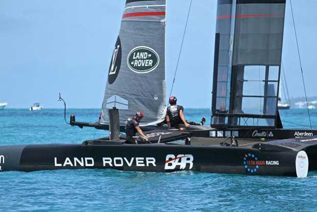 Land Rover BAR , Round Robin 2 - America's Cup 2017, May 31, 2017 Great Sound Bermuda © Richard Gladwell www.photosport.co.nz