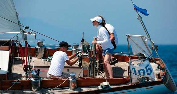 Day 3 – St. Christopher – Argentario Sailing Week and Panerai Classic Yacht Challenge © Marco Trainotti