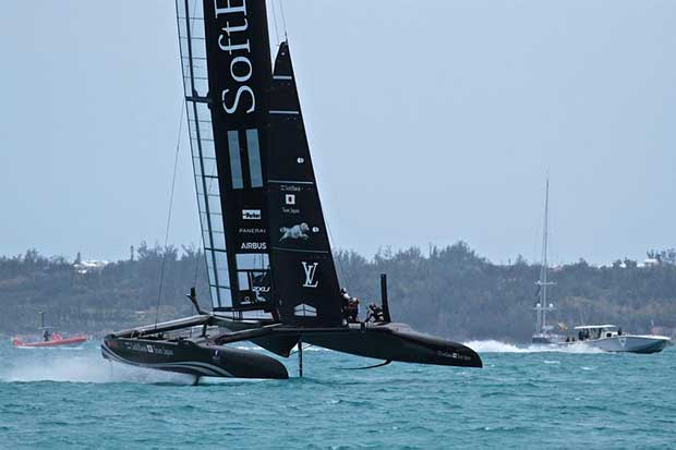 Softbank Team Japan - Round Robin 2, Day 7 - 35th America's Cup - Bermuda June 2, 2017 © Richard Gladwell www.photosport.co.nz