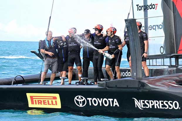 Emirates Team New Zealand - Challenger Final, Day 3 - 35th America's Cup - Day 16 - Bermuda June 12, 2017 © Richard Gladwell www.photosport.co.nz