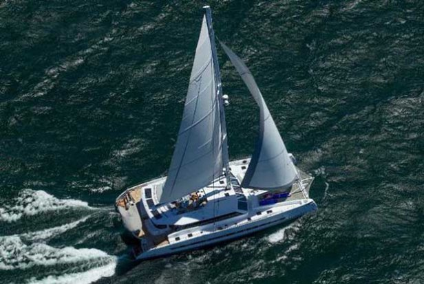 First Balance 760 arrives in Tortola from Cape Town The Multihull Company