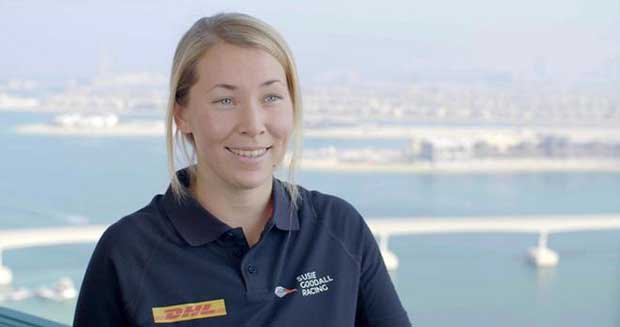 Solo yachtswoman Susie Goodall, the youngest entrant in the 2018 Golden Globe Race © Golden Globe Race