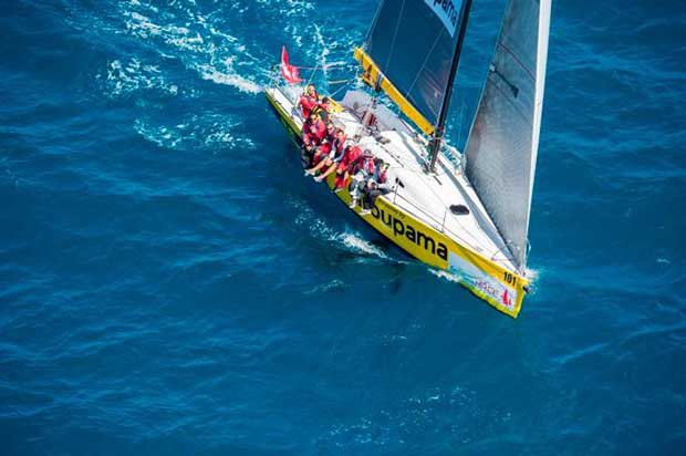 Groupama Race 2014 © Fred Payet