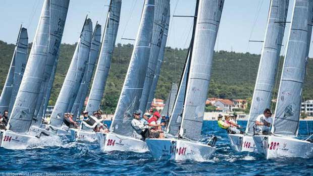 Day 1 - 2017 Melges 20 World League European Division - Event 3 © Barracuda Communication