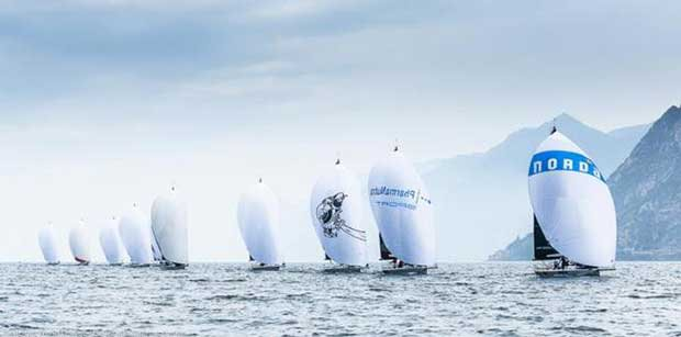 Riva Del Garda - 2017 Melges 32 World League Barracuda Communications
