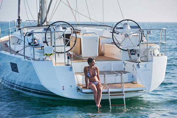 Much anticipated new Jeanneau 51 arrival 38 South Boat Sales