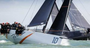 Johnny Vincent's Ker40+ Pace - Day 1 - RORC IRC National Championship 2017 © Paul Wyeth